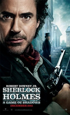Sherlock Holmes 2 locandina