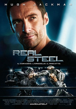Real Steel locandina Home