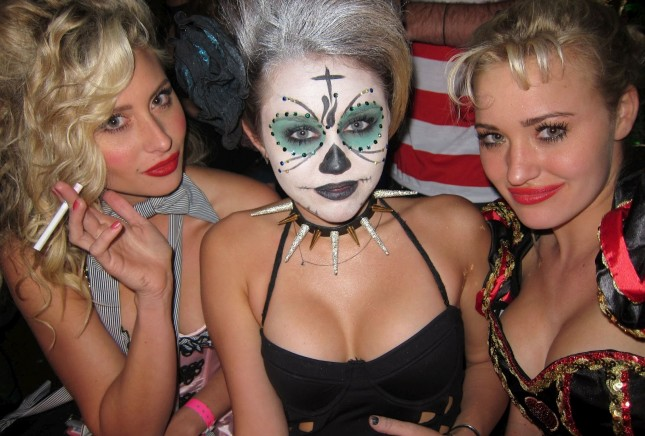 Miley Cyrus at Kate Hudson's Halloween Party