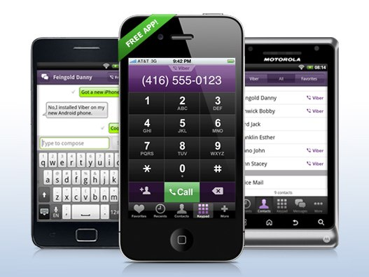 Viber alternativa a WhatsApp