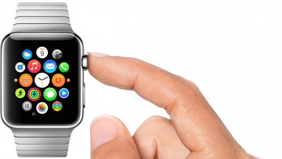 Pulsante Apple Watch